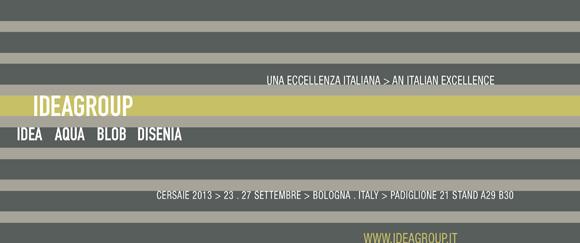 Концерн Ideagroup на выставке Cersaie 2013