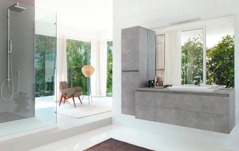 CUBIK – новая коллекция минималистской мебели для ванной