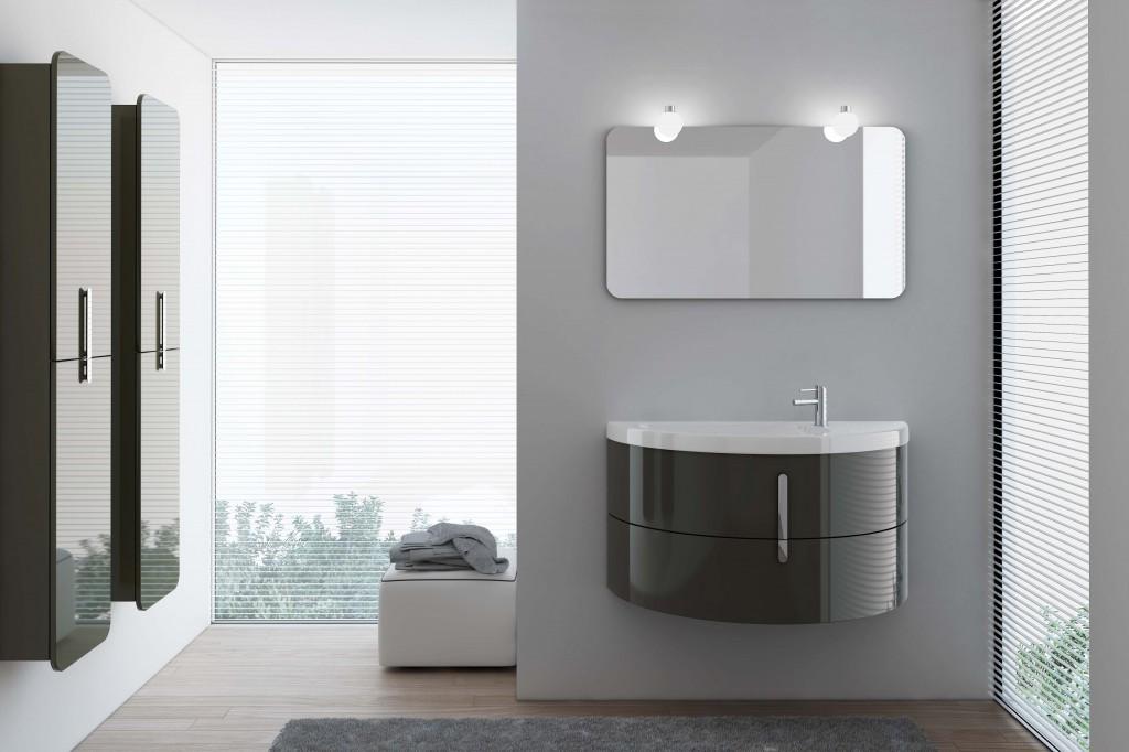 Moon, новая коллекция модульной мебели для ванной от BLOB, в онлайн просмотре