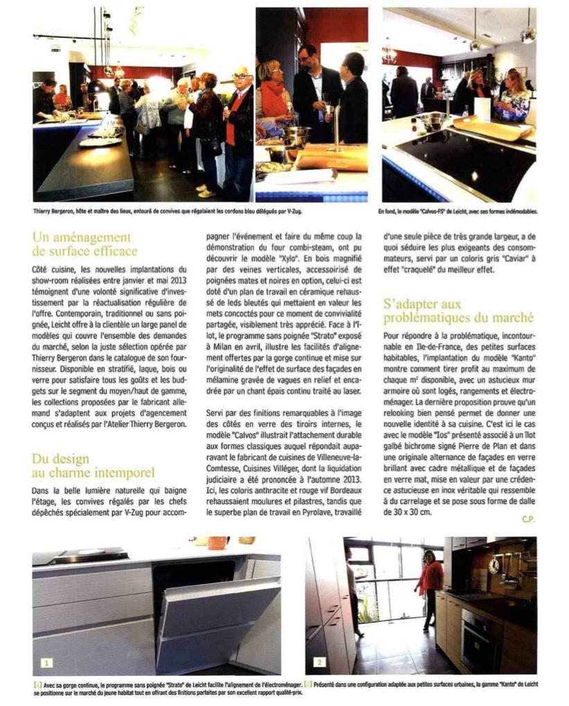 Blob Cubik и Nyu в журнале L Officiel Des Cuisinistes