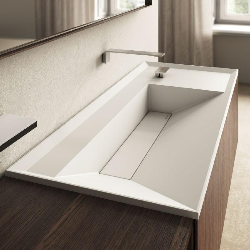 Cristalplant washbasin