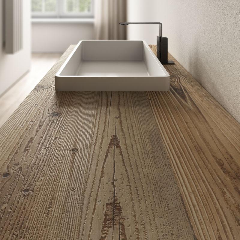 """""""Vintage"""" solid fir wood top"""