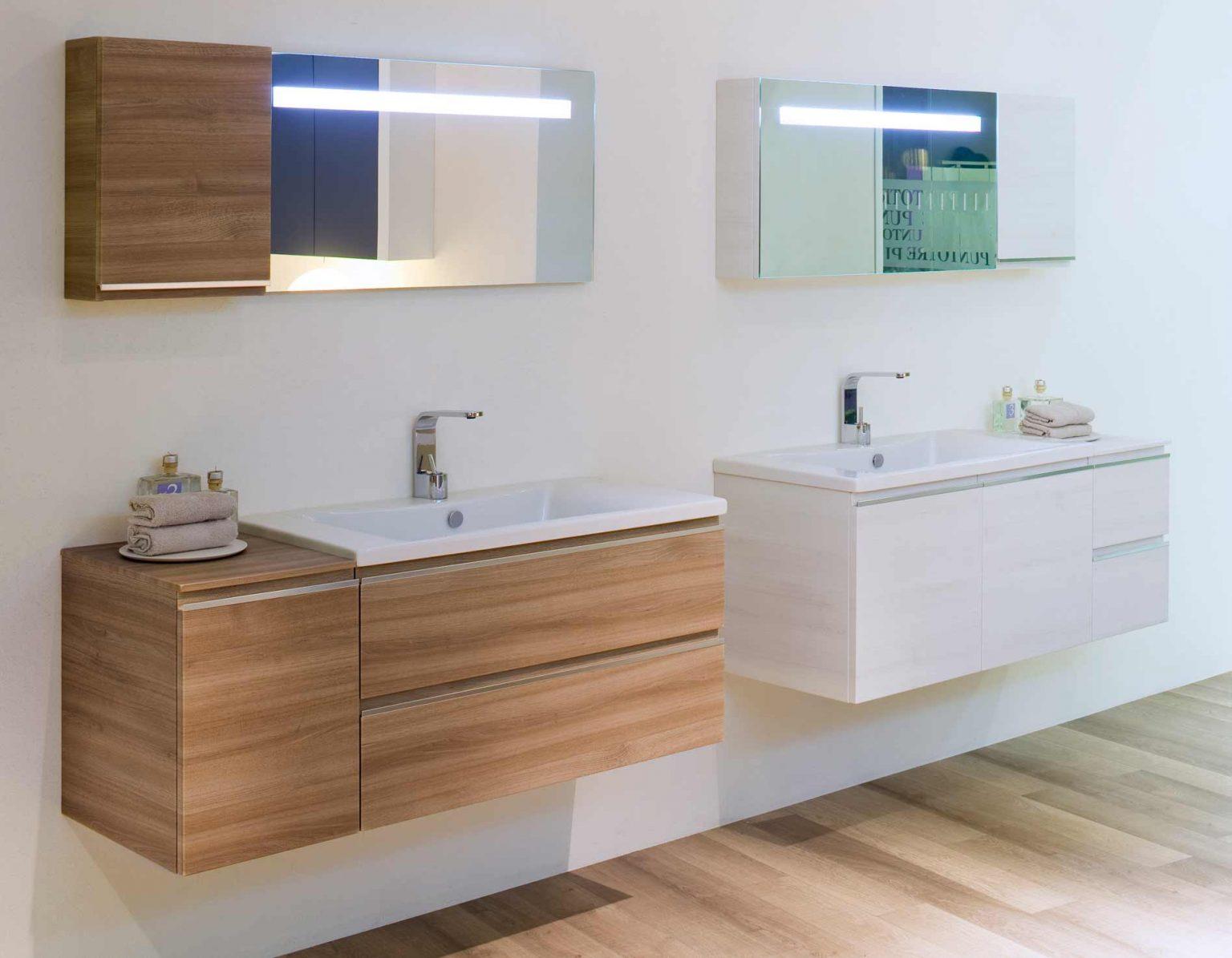 Модульная коллекция мебели для ванной Mistral от BLOB: новая модульность и новая отделка