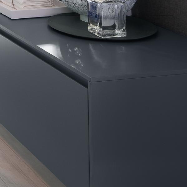 Тонкий край подчеркивает дизайн шкафа
