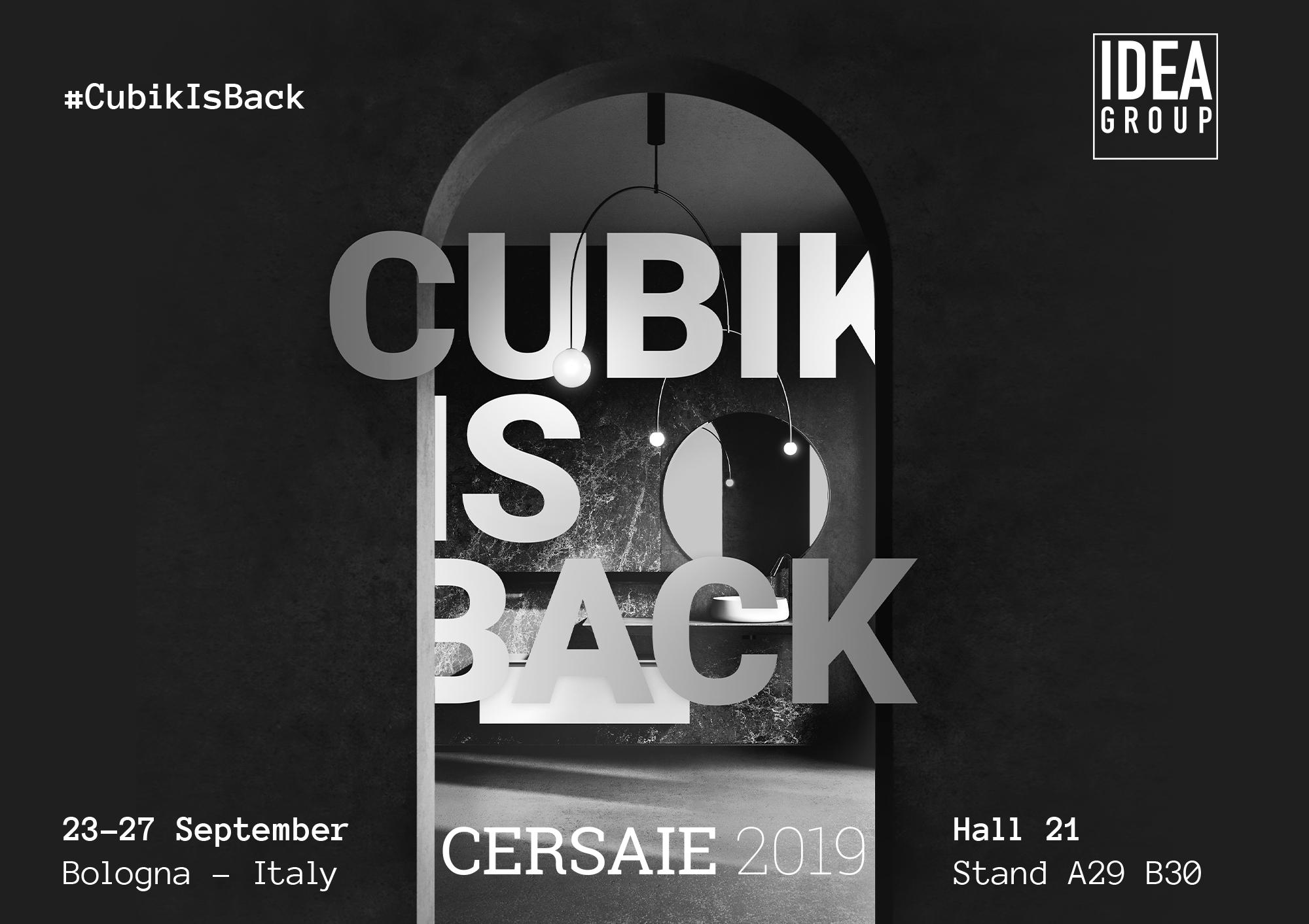 Группа компаний Ideagroup на выставке Cersaie2019: #CubikIsBack